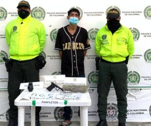 Antony Paredes Cordero, alias 'Zancudo'.