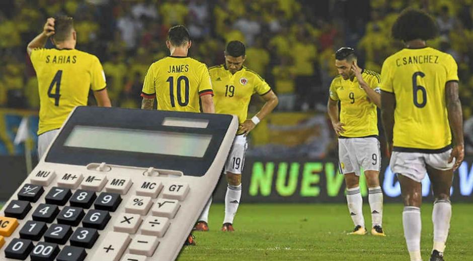 Las cuentas de la Selección Colombia para ir a Rusia 2018