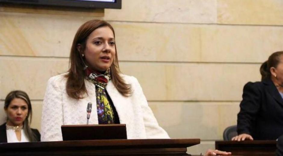 Astrid Salamanca, directora administrativa del Senado