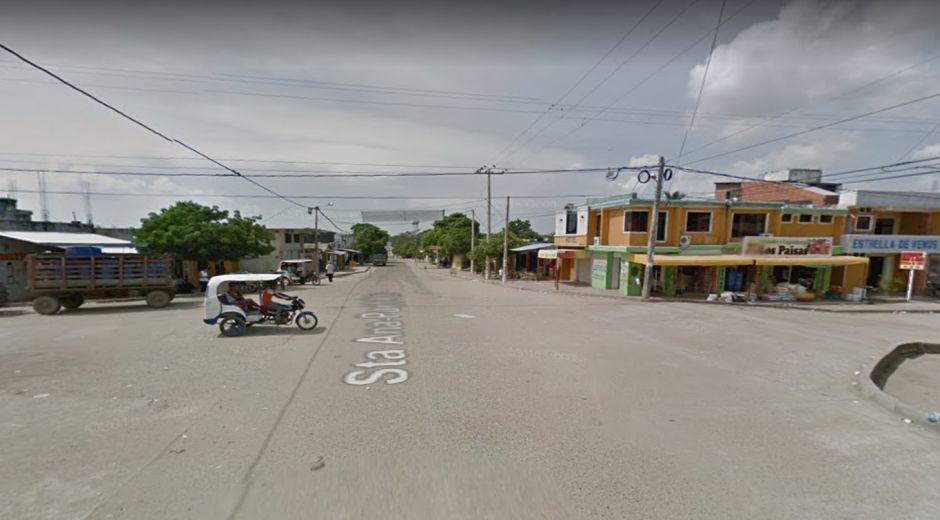 Entrada a Santa Ana, Magdalena / Ilustración.