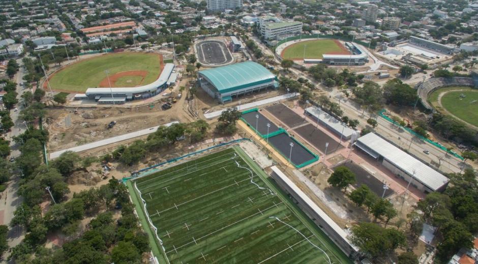 Juegos Bolivarianos 2017.Escenarios deportivos