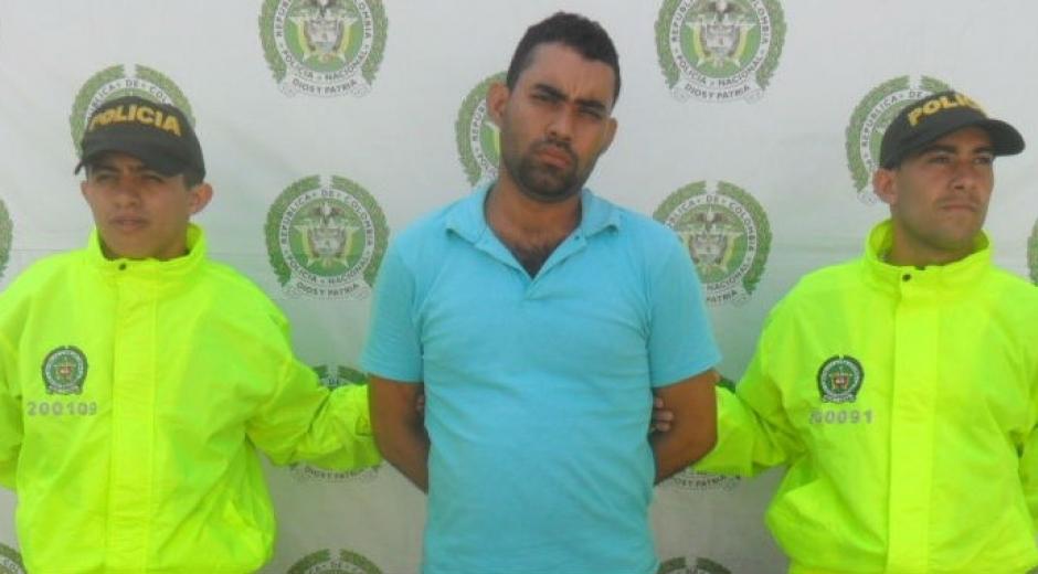 El presunto homicida fue capturado en el barrio Jardín en Santa Marta.