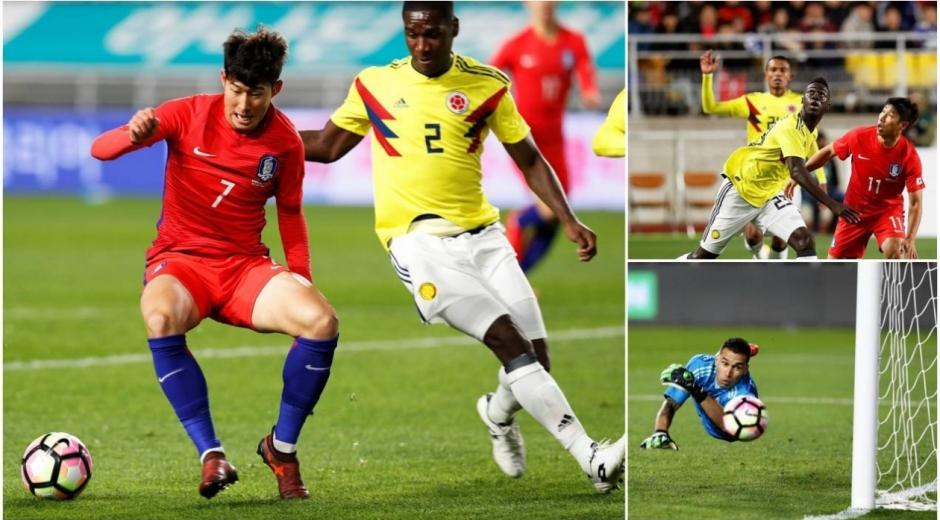La Selección Colombia enfrentó este viernes a Corea del Sur en Suwon.