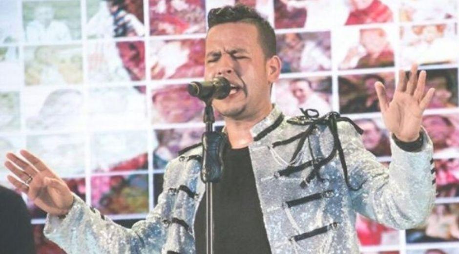 El cantante Martín Elías.
