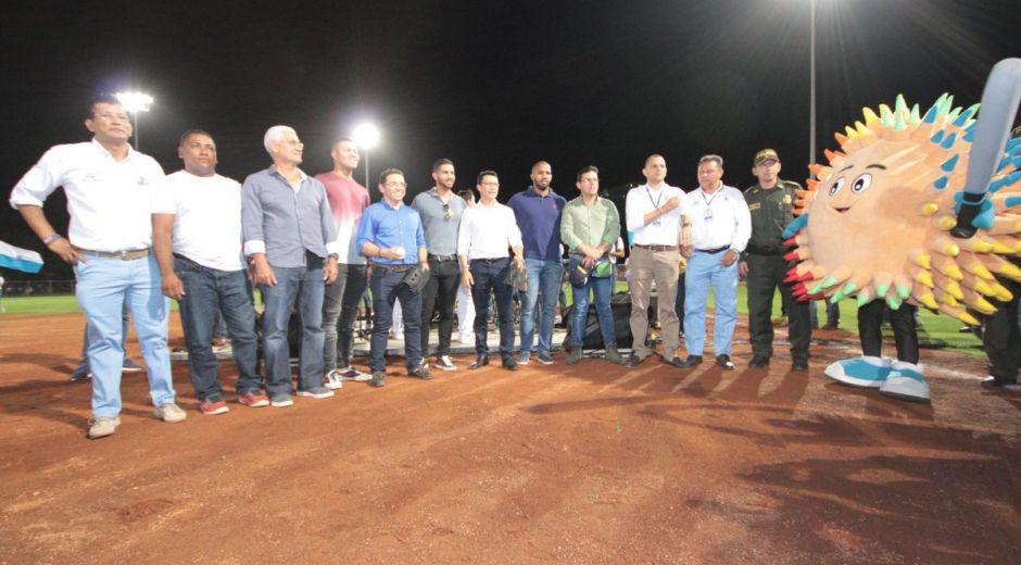 Una de las imágenes publicadas en la cuenta del Alcalde en la que se observa a Caicedo acompañando al mandatario en la inauguración de uno de los escenarios de los Juegos Bolivarianos.