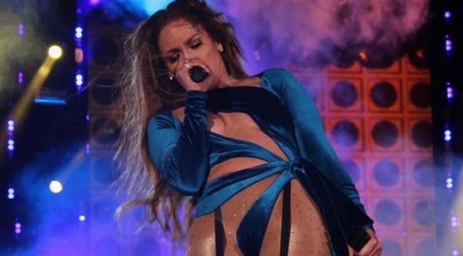 La cantante Jennifer López.