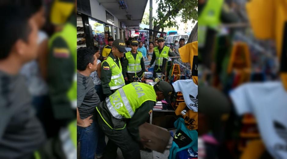 Operativos de la Policía Metropolitana en Santa Marta