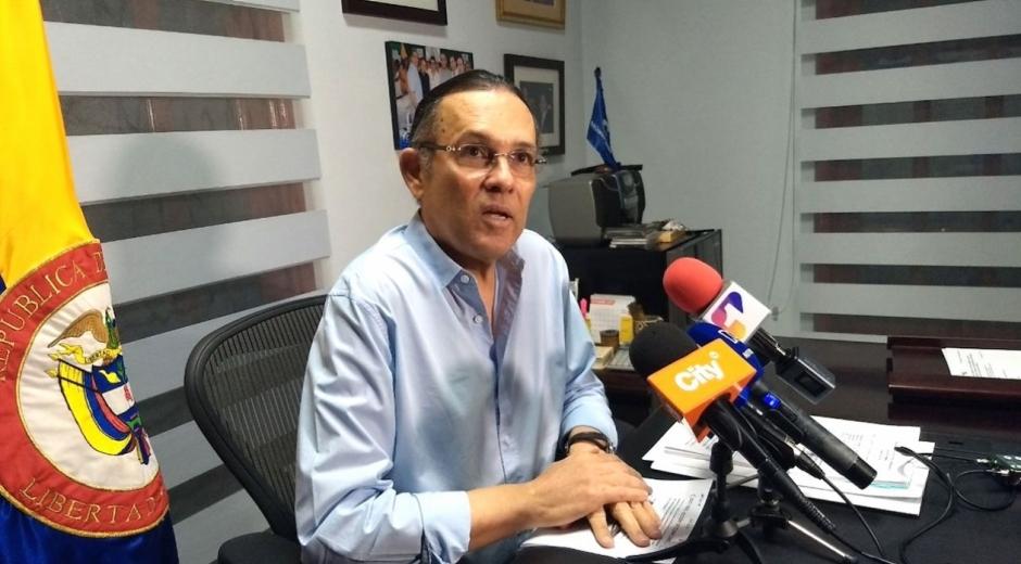Efraín Cepeda Sarabia, presidente del Senado.