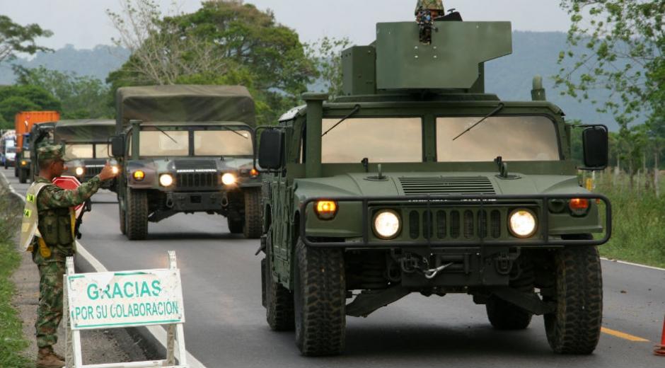 El Ejército militarizará puntos críticos en Santa Marta.
