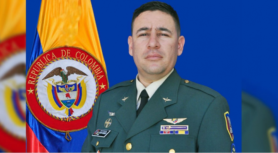 Sargento viceprimero Juan Camilo Rubio Reina, fallecido accidentalmente.