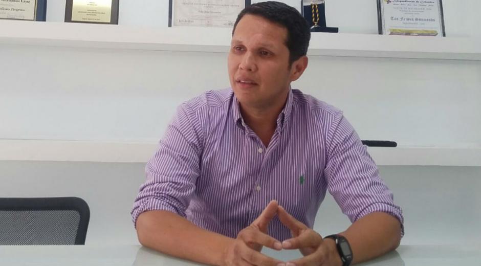 Carlos Mario Mejía, concejal de Santa Marta.