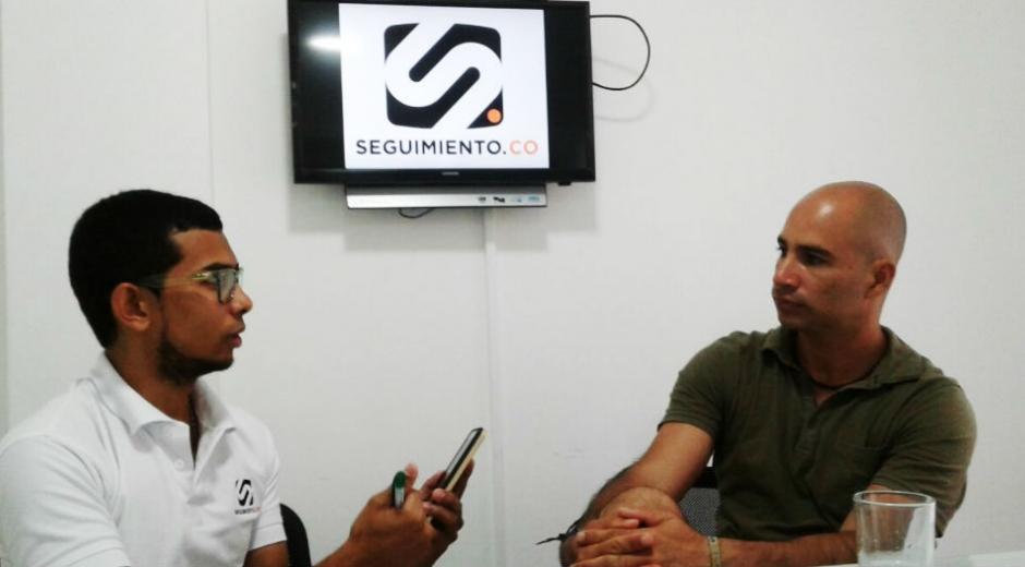 Durante la entrevista el Doc. Phanor Montoya habló acerca de su ambicioso proyecto de sembrar corales en Santa Marta.