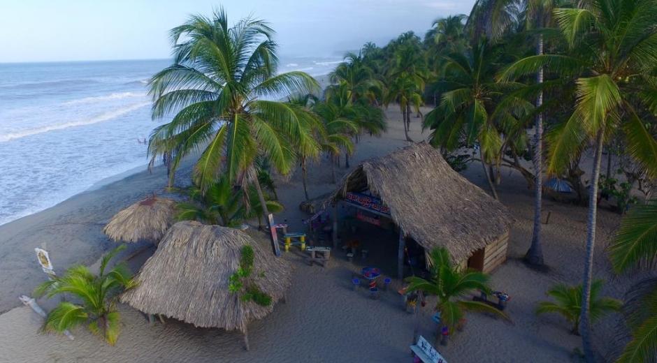 Vista del hotel Casagrande, donde ocurrieron los hechos a altas horas de la noche del lunes.
