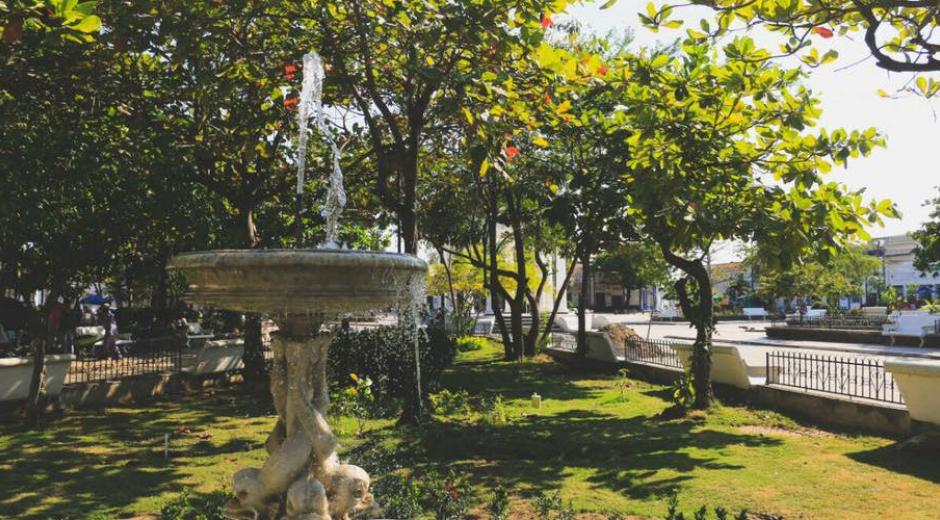 Plaza del Centenario de Ciénaga.