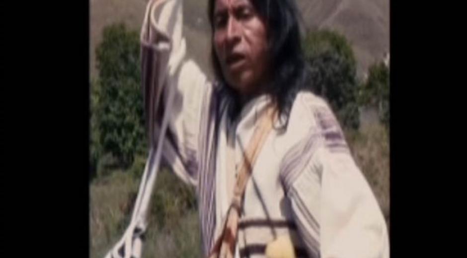 Pedro Juan, Mamo Mayor del Pueblo Kogui.