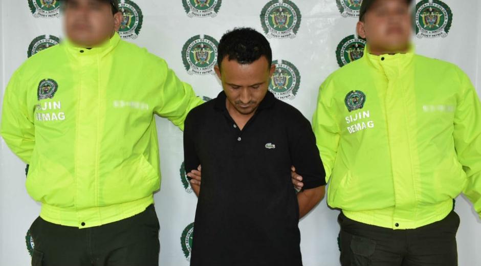 El detenido fue identificado como Jesús Damián Martínez Montenegro.