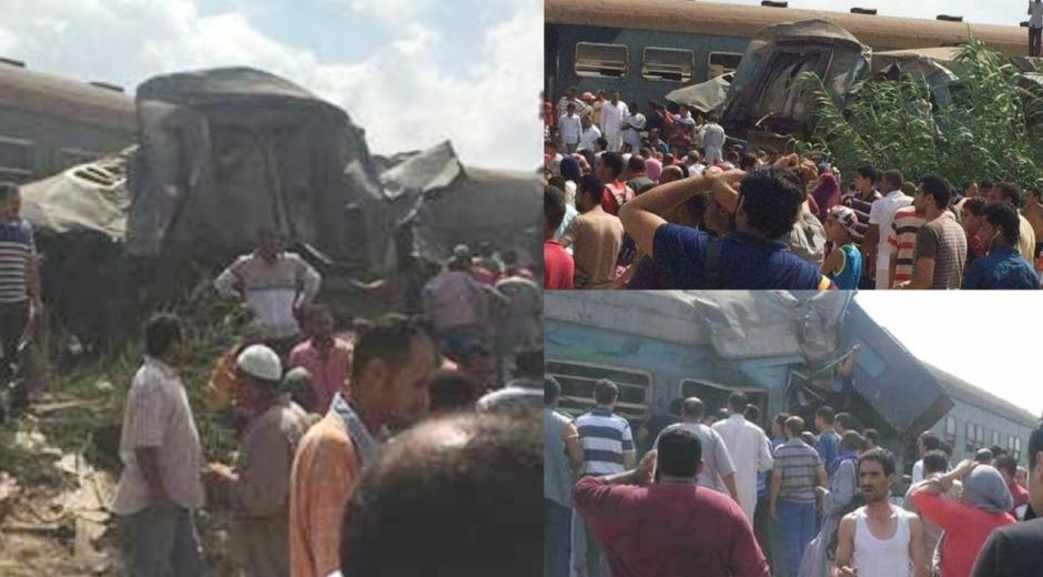 Como resultado del choque, volcaron la locomotora del primer tren y dos vagones de cola del segundo tren.