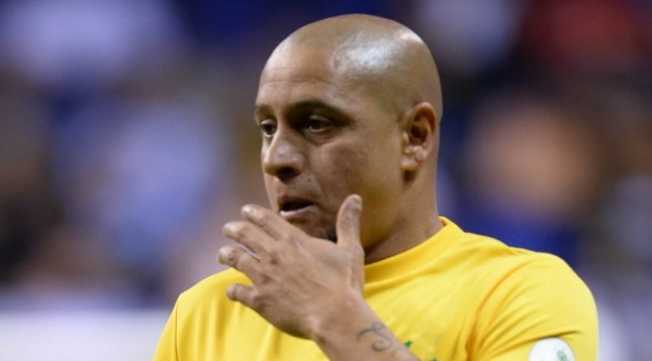 Roberto Carlos exfutbolista.