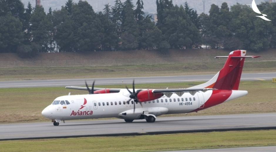 Avión de Avianca.