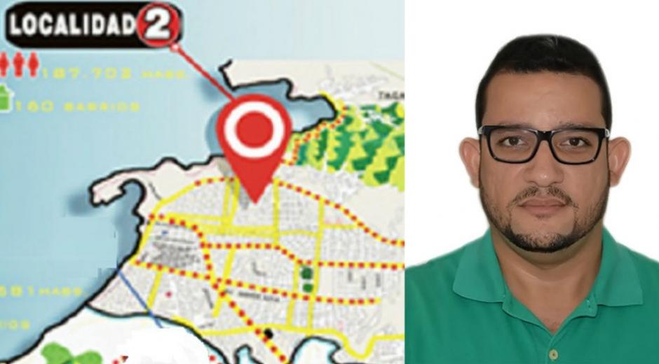 Luis Fernando Pinzón, alcalde encargado Localidad 2.