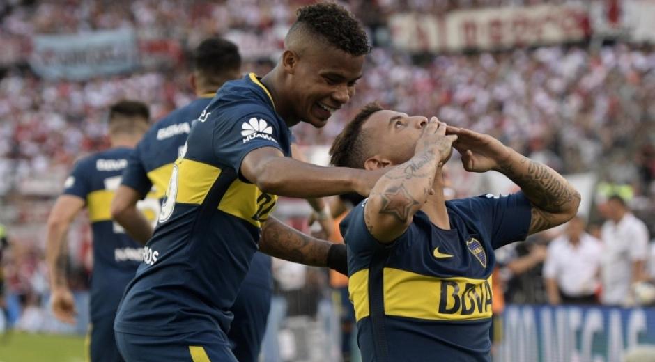 Edwin Cardona y Wilmar Barrios.