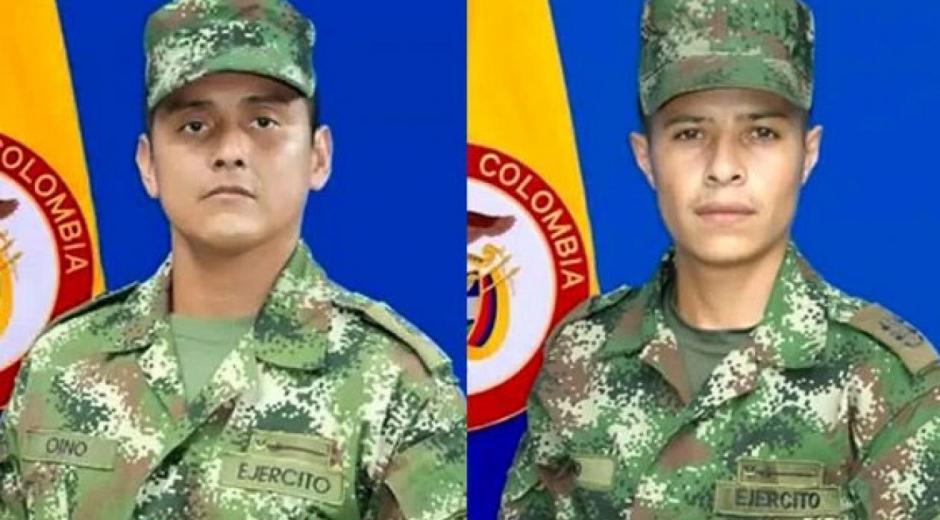 José Alexander Oino Guevara y Andrés Felipe Cano Echavarría.