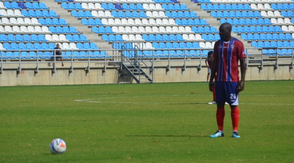 El vallecaucano marcó ocho goles con el Ciclón.