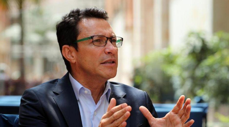Carlos Caicedo, en entrevista con El Tiempo.