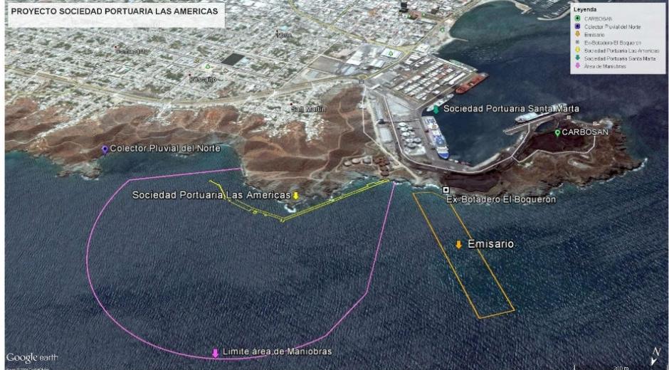 Proyecto del Puerto de Las Américas.
