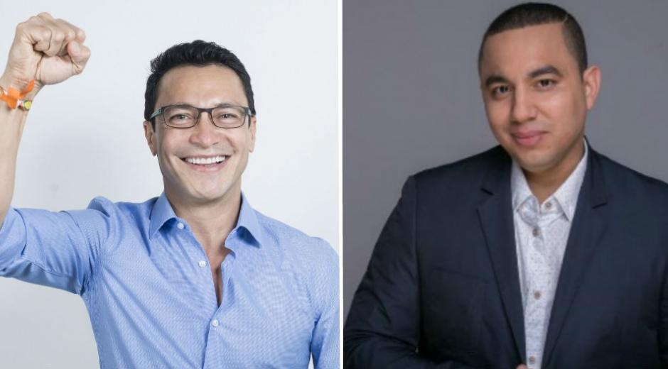 Carlos Caicedo y Felipe Peláez.