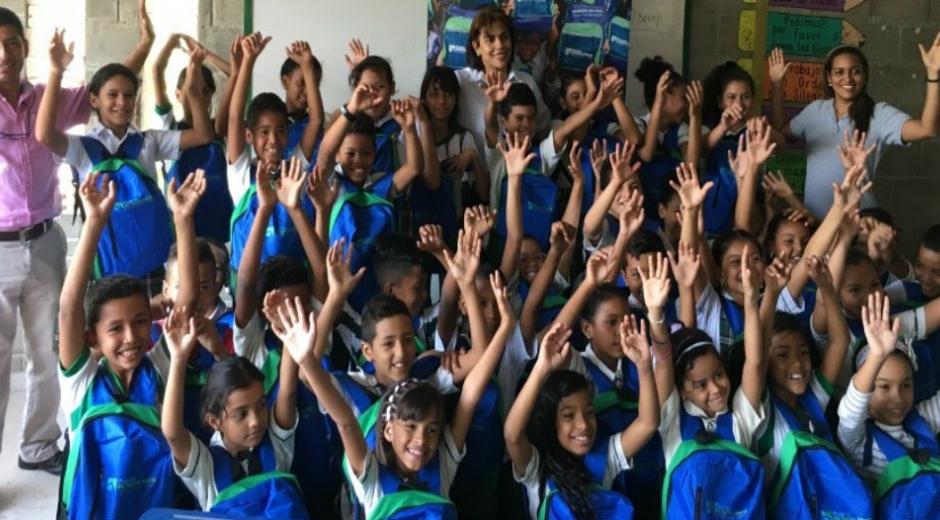 •Esta entrega se hace en el marco del programa mejoramiento educativo, el cual tiene como objetivo que los niños y niñas se formen con calidad, evitando la deserción escolar.