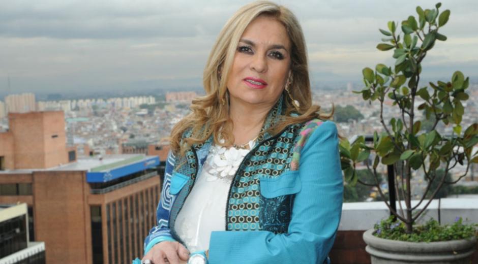 Zayda Barrero, candidata al senado por el Centro Democrático.