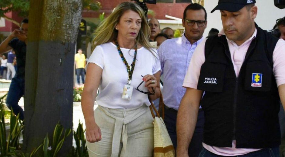 Ángela Bedoya, directora Seccional de Fiscalías del Atlántico.