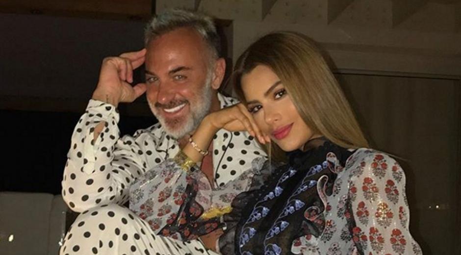 Gianluca Vacchi y Ariadna Gutiérrez.
