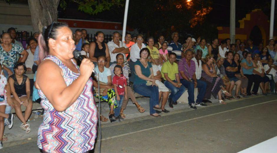 La comunidad se quejó por los constantes actos delictivos que se cometen en esa zona.