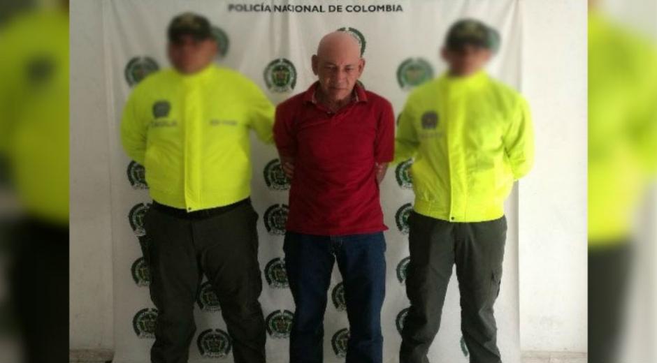 El sujeto fue sindicado por los delitos de 'falsedad personal' 'concierto para delinquir agravado'.