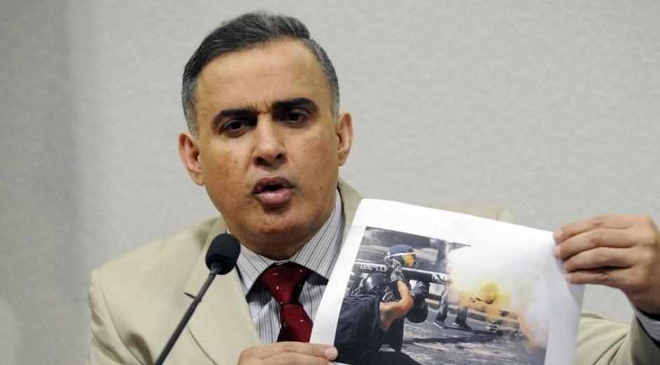 El fiscal general de Venezuela, Tarek Saab.