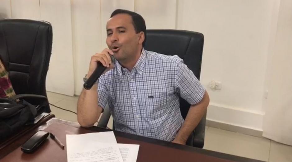Concejal José Manuel Mozo.