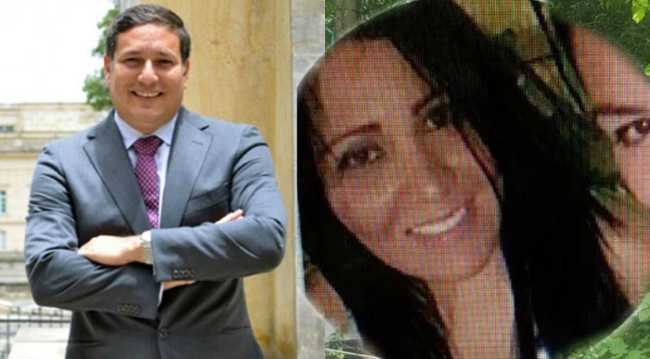 Roberto Herrera y su esposa.