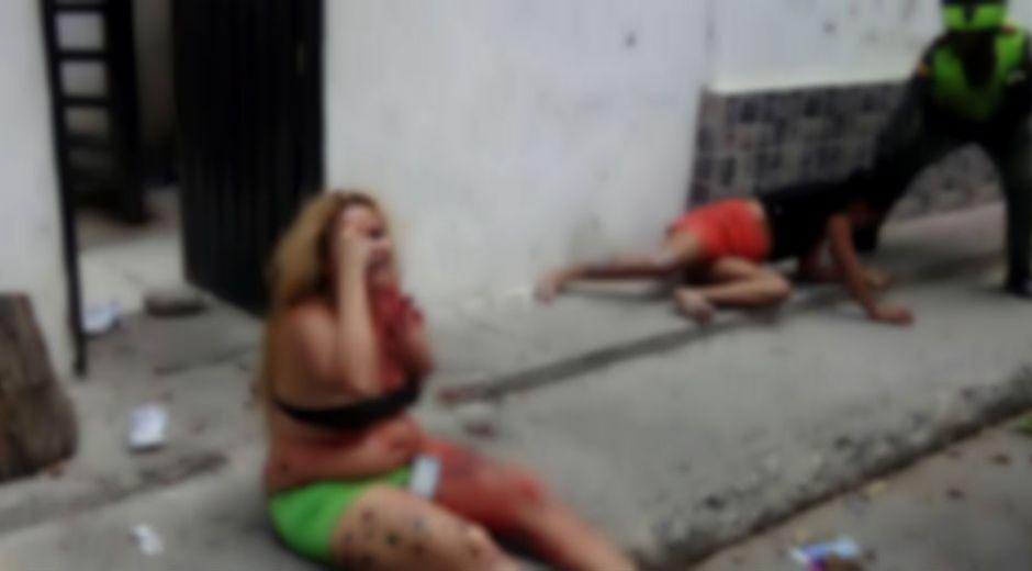 Pelea entre venezolanas, dejó una herida y otra capturada.