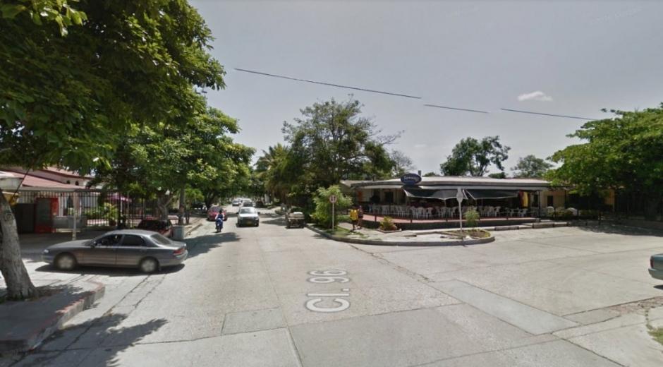 En este sector de la ciudad ocurrió el caso de fleteo.