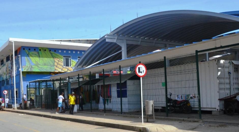 El Mercado Público de Santa Marta.