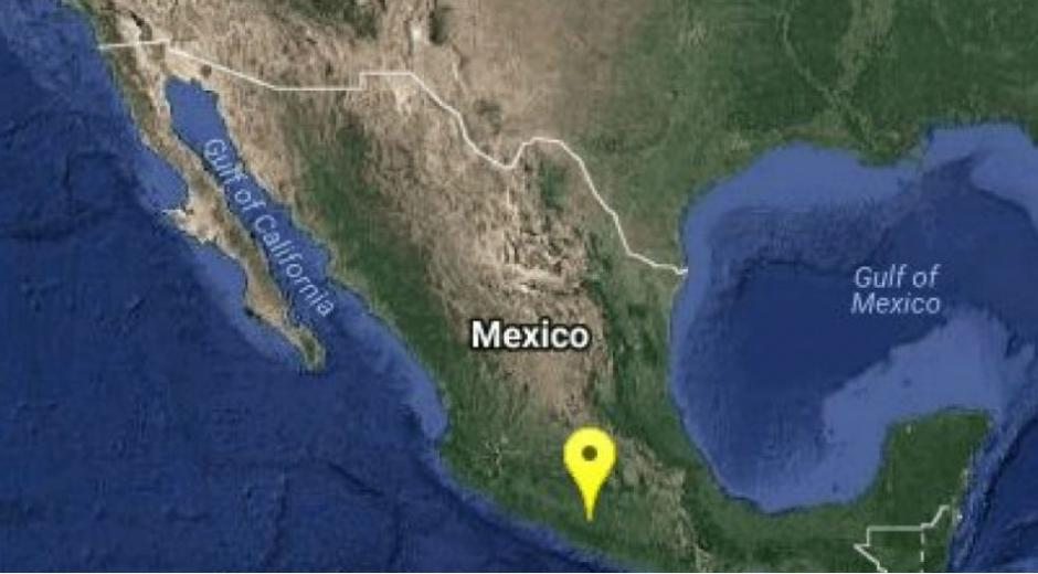 Un sismo de magnitud 5,3 sacude México.