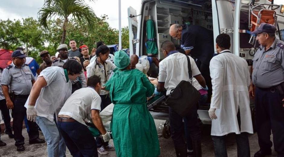Las tres mujeres rescatadas con vida reciben atención médica integral.