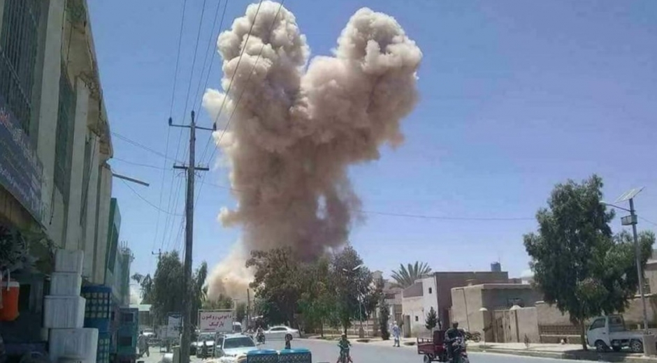 Contenedor cargado de explosivos estalló mientras las fuerzas de seguridad trataban de desactivarlo en Kandahar
