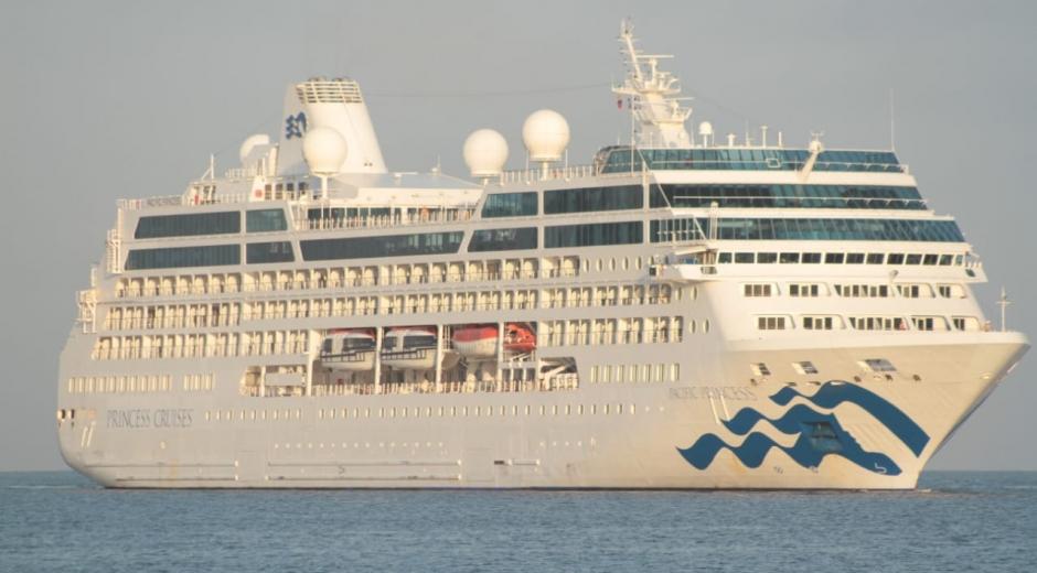 Crucero Pacific Princess.