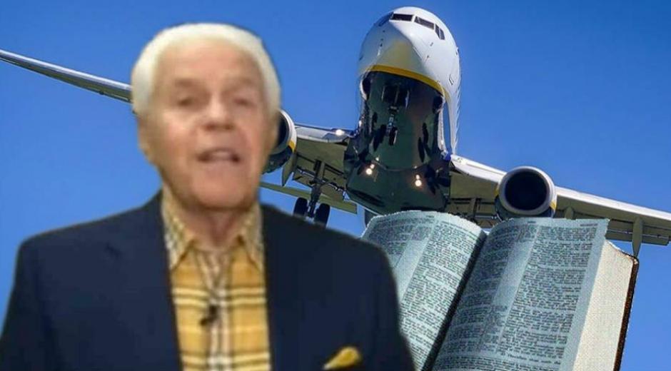 Pidió 54 millones de dólares a sus feligreses para comprar su cuarto avión privado