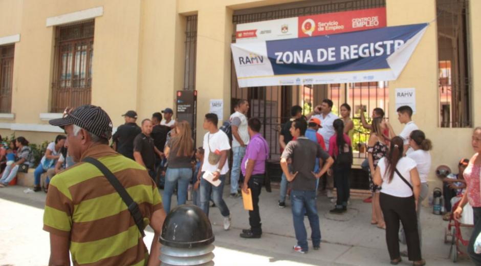 Censo a ciudadanos venezolanos en Santa Marta.