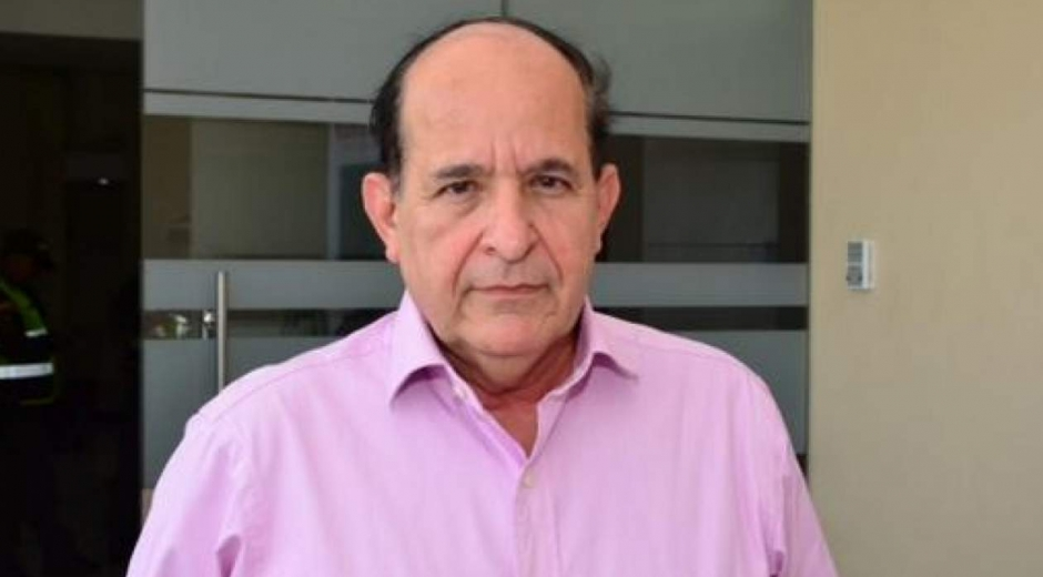 Álvaro Ashton, senador suspendido.