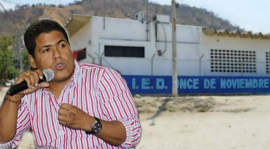 Presidente del Concejo de Santa Marta, Jorge Yesid Ospino.